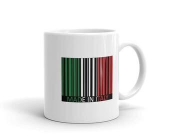 Made in Italy funny mug,Tea mug,coffee mug,drinking mug,11oz mug,15oz mug,fathers day gifts,italian flag mug,italian american mug