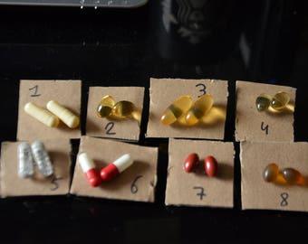 Medication earrings