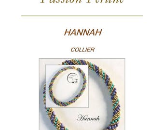 Pattern necklace HANNAH
