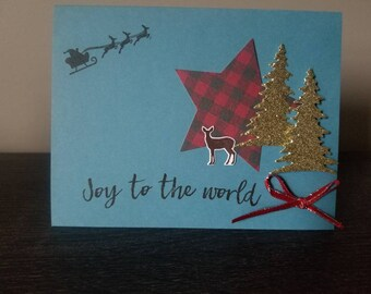Joy to the world card.