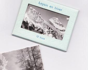 Vintage Souvenir: Leysin Photograph.