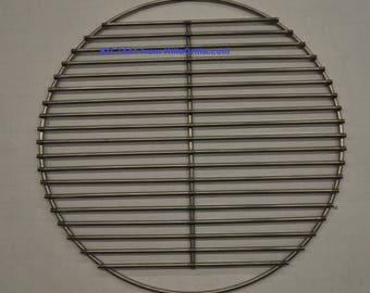 "17"" Round BBQ Stainless Charcoal Grill Grate- KG 7441  Weber replacement"