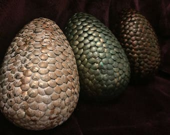 3 x Medium Game Of Thrones Dragon Eggs ~HANDMADE TO ORDER~