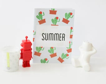 """Handmade notebook """"Summer"""""""