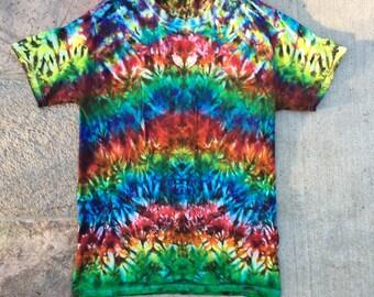Tie Dye Rainbow Crunch Tshirt