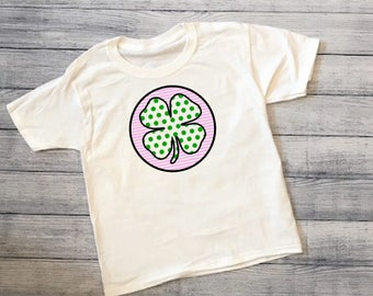 Kids St. Patricks Day Shamrock Shirt