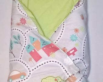 Bunting for swaddling, sleeping bag, sleeping bag - collection walk in the Woods
