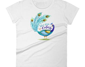 Show your Colors Women's short sleeve t-shirt
