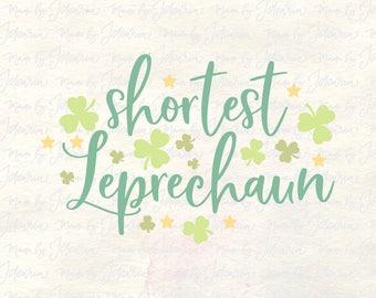 Shortest Leprechaun svg, st patricks day svg, st patricks svg, lucky svg, st patricks svg file, baby st patricks svg, irish svg, lucky svg