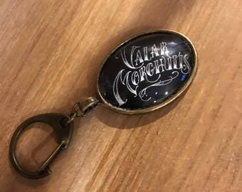 Game Of Thrones inspired Keychain - Valar Morghulis - All Men Must Die