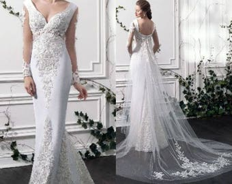 Kamelia - Trumpet Wedding Dress