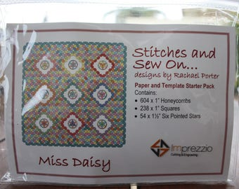Miss Daisy STARTER paper and template pack
