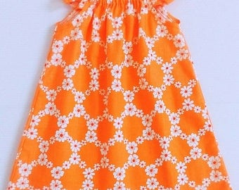 Baby Dress / Flutter Dress / Peasant Dress / Baby Girl Dress