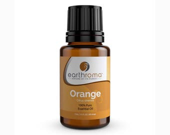 Orange Essential Oil | 5 mL | 15 mL | 30 mL | 100% Pure Therapeutic Grade