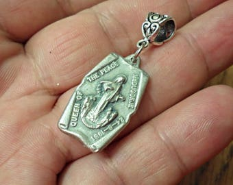 Rare Vintage Catholic Medal  /necklace  /REL1