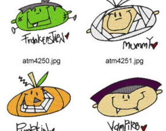 A-Kids-View-Halloween-Faces ( 7 Machine Embroidery Designs from ATW ) XYZ17H