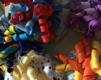 Summer Funtime Hair Bows