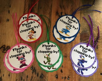 Mickey and the Roadster Racer Gift Tags