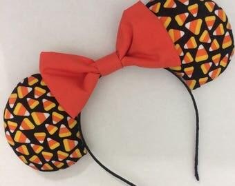 Candy Corn Halloween Ears