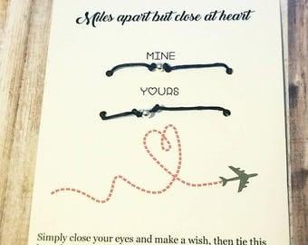 Couples Bracelets, Boyfriend Girlfriend Bracelets, Boyfriend Girlfriend Jewelry, long distance relationship , His Hers Bracelets,  husband