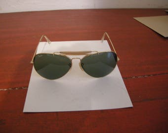 sunglasses ray ban shooter 1970 vintage