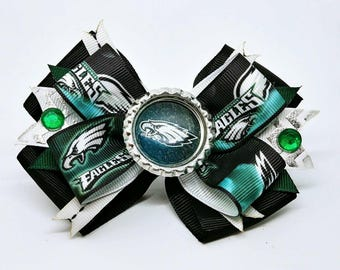 Philadelphia Eagles NFL Hair Bow Headband