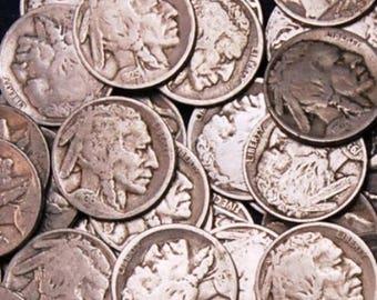 40 Buffalo Nickels, 1 Roll