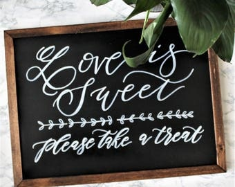 Custom Chalkboard Sign (Small)