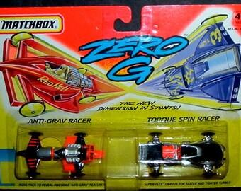 MATCHBOX ZERO G RACERS