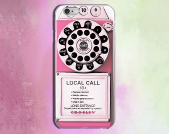 Vintage Pink Payphone iPhone 5 Case iPhone 6S Case iPhone 5 Cases iPhone 5S Cases for S6 Samsung case iPhone Case for Samsung phone S6