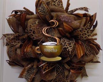 Coffee Wreath