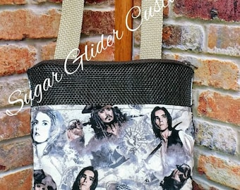 Pirates Of The Carribean Bonding Pouch.  Jack Sparrow, the Black Pearl, Davey Jones, cosplay, pirates, Johnny depp, the flying dutchman