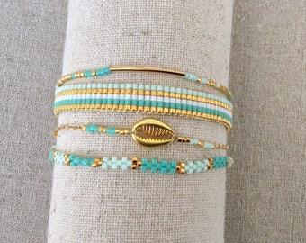 Rosita in shades of Turquoise bracelet