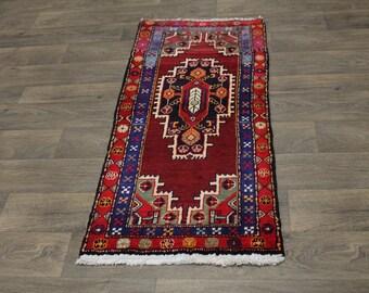 Great Shape Unique Handmade Ardebil Heriz Persian Area Rug Oriental Carpet 2X4ʹ5