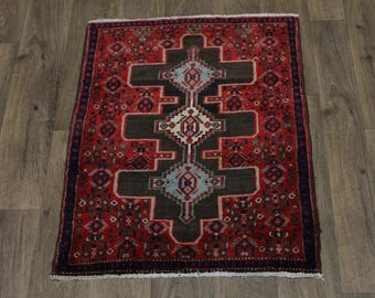 Gorgeous Handmade Small Bidjar Sanneh Persian Rug Oriental Area Carpet 2'5X3'2