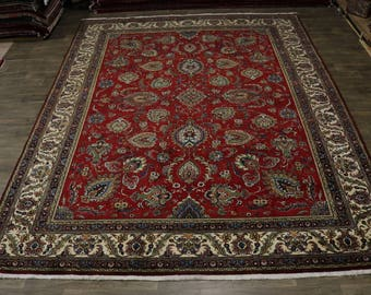 Exceptional Palace Size Allover Tabriz Persian Rug Oriental Area Carpet 11X14