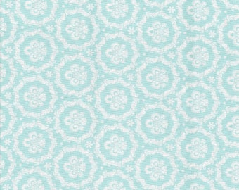 Tilda fabric 50 x 55 cm Round ornament Teal coupon