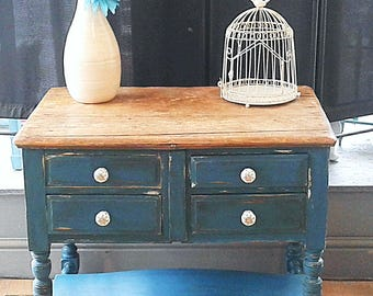 UPCYCLED RUSTIC SIDEBOARD