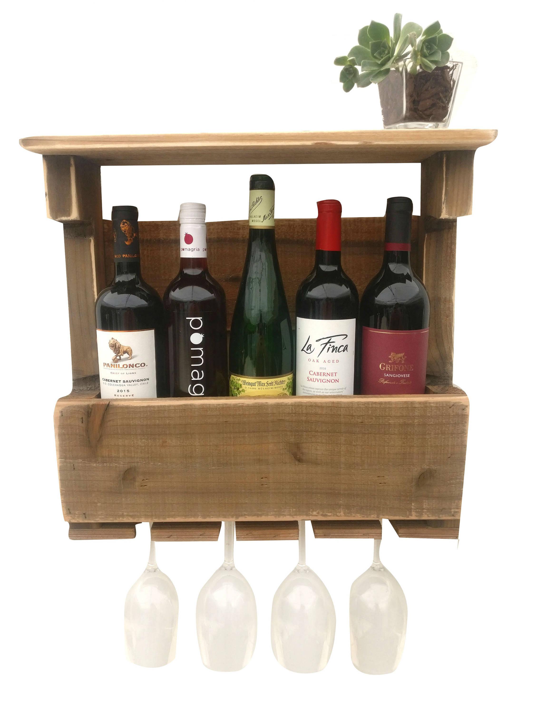reclaimed wood wine rack pallet wine rack wine rack shelf. Black Bedroom Furniture Sets. Home Design Ideas