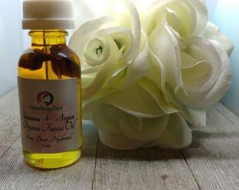 Tamanu + Argan  + Grape seed + Rose hip Facial Oil | Facial Serum | Facial  Cleansing Oil | Facial Care | VirtuesBodyCare | Organic