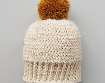 Bobble Hat Crochet Pattern Child