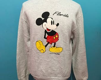 Vtg Mickey mouse florida sweatshirt