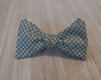 The Alexander Bow Tie | Plaid, Father Son, Matching Bow Tie, HANDMADE CUSTOM ORDER, Pre-Tie or Self-Tie | Mens, Boys, Toddler or Baby