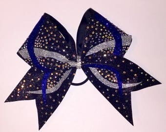 Infinity Beyond Rhinestone Cheer Bow