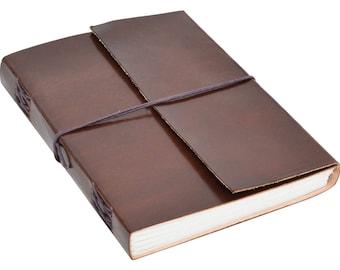 Gusti leather ' ELA ' notebook diary journal B5
