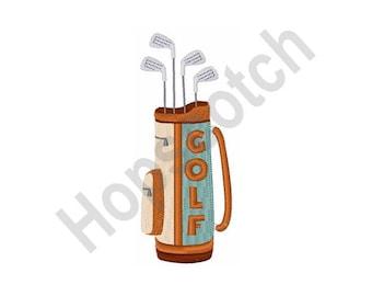 Golf Bag - Machine Embroidery Design