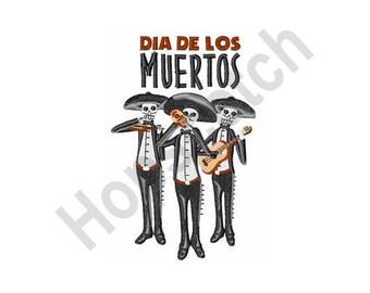 Dia De Los Muertos - Machine Embroidery Design