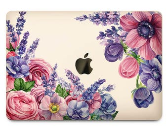 Decal MacBook Air MacBook Pro 13 MacBook Pro 2016 Clear MacBook Decal Mac Pro Decal Mac Pro Sticker Laptop Decal Floral Clear Laptop Floral