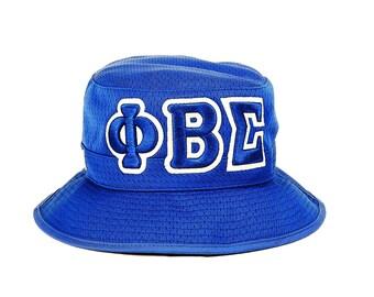 PHI BETA SIGMA Blue Bucket Hat