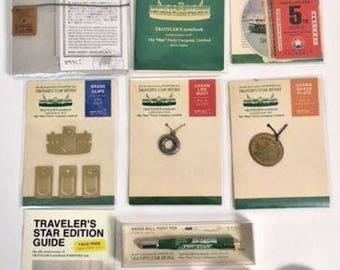 The 5th Anniversary of Traveler's Notebook Star Edition Leather Cover Passport size limited-edition Camel Star Ferry Complete set from Japan